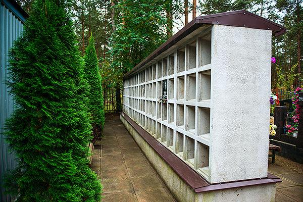 Колумбарий Сестрорецкого кладбища